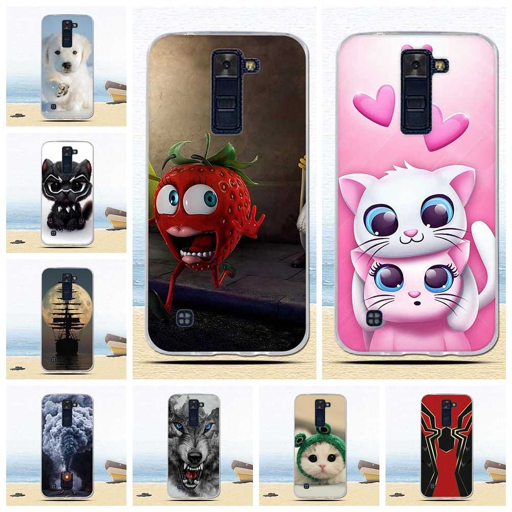 Soft Case for LG K8 LTE 2016 K350 K350E K350N Case Silicone Phone Back for Capa LG K8 2016 Case Cover for LG K8 LTE Case