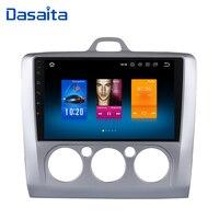 Dasaita 9 радио автомобиль Ford Focus 2 Multimedia 2002 2003 2004 2005 2006 2007 2008 Поддержка Navi gps головное устройство 4 г 32 г 1080 P