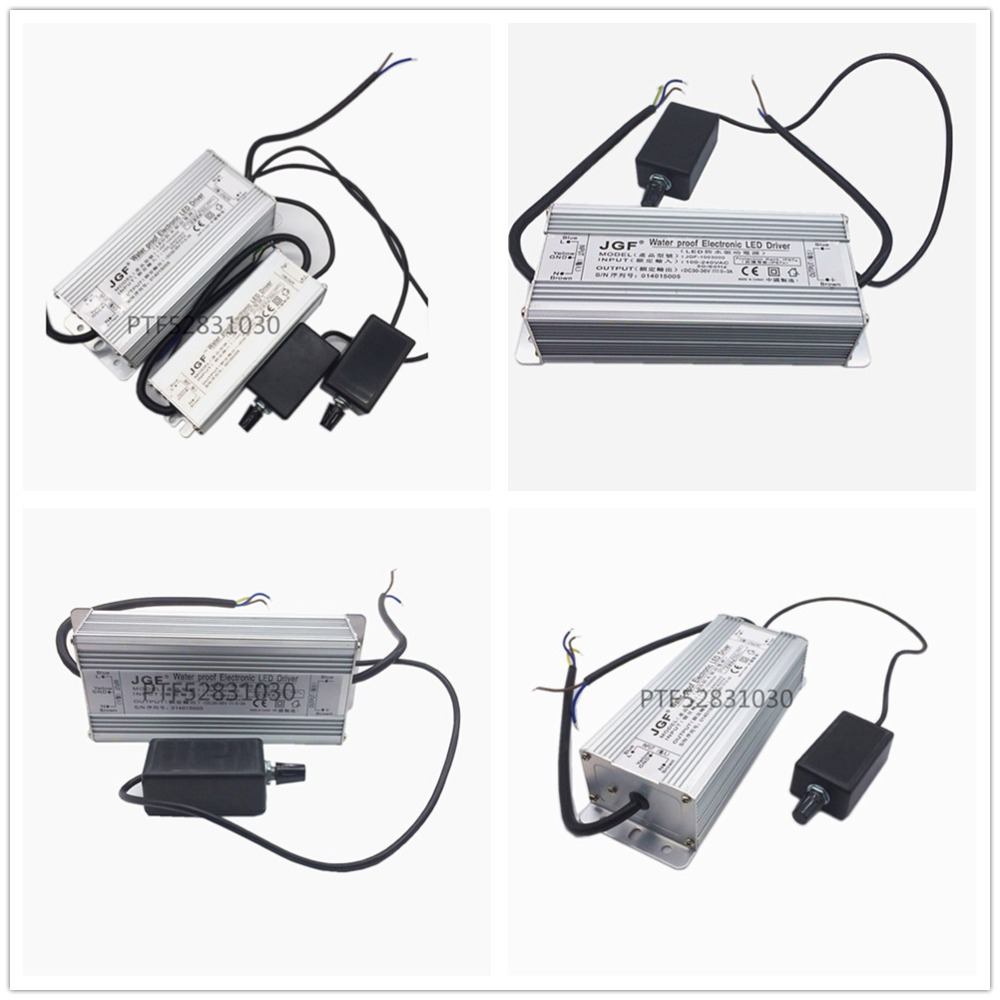 Waterproof Dimmable 110V 230V High LED Driver tansformer for 50w 100w 150W 200W light chip bead 30-36V 1500mA 3000mA 4500mA