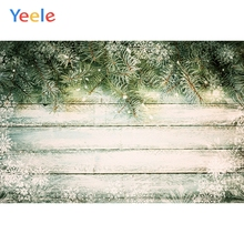 Yeele Wood Photocall Snow Pine Grunge Retro Style Photography Backdrops Personalized Photographic Backgrounds For Photo Studio