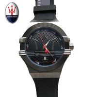 Maserati Военный Кварц Для мужчин смотреть лучший бренд класса люкс Для мужчин смотреть Повседневное спортивные Для мужчин часы Relogio Masculino