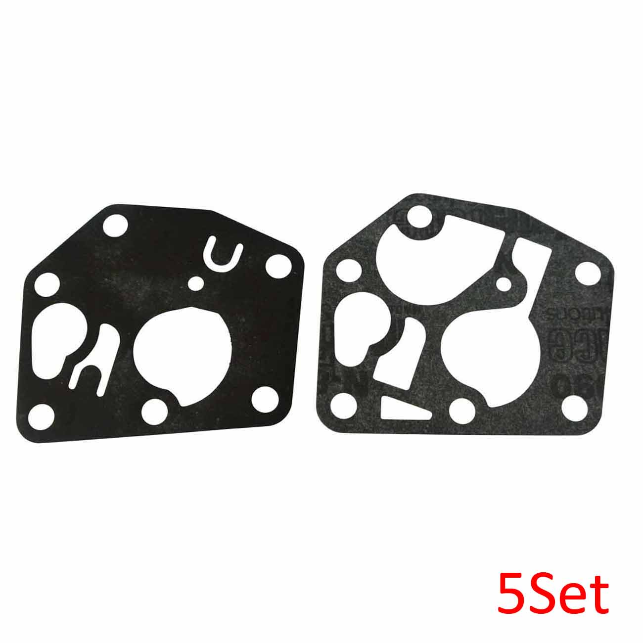 5Set Carb Gasket Kit For <font><b>Briggs</b></font> and Stratton Carburettor Diaphragm <font><b>795083</b></font> image