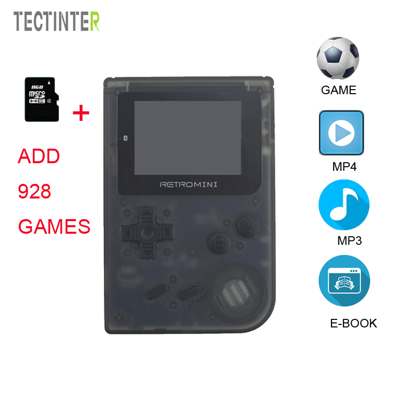 Mini Game Console Retro Handheld Game Players 32 Bit Portable Built-in 968 Classic Games For Kid present