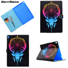 Flower butterfly animal Magnet PU leather case for iPad Pro 10.5 (2017) tablet cover hoesje coque kryt etui funda puzdra kilif