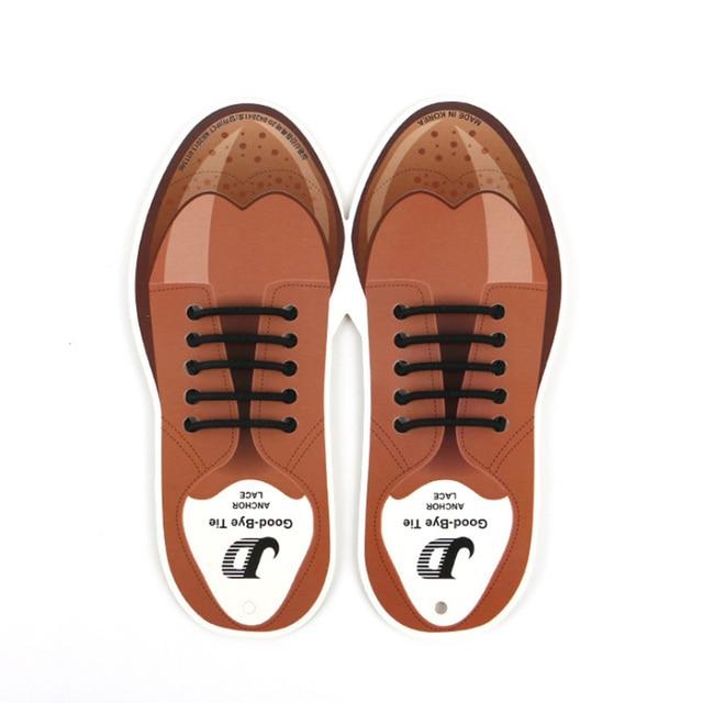 b08115ee24835 10pcs/lot Silicone Shoelaces For Leather Shoes Special Shoelace No Tie Shoe  Laces For Men Business Lacing Shoes Rubber Shoelace