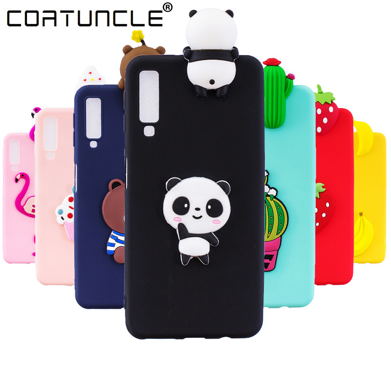 A7 2018 Case on For Coque Samsung Galaxy A7 2018 case Soft TPU Cover For Samsung Galaxy A7 2018 Cartoon Dolls Toys Phone Cases