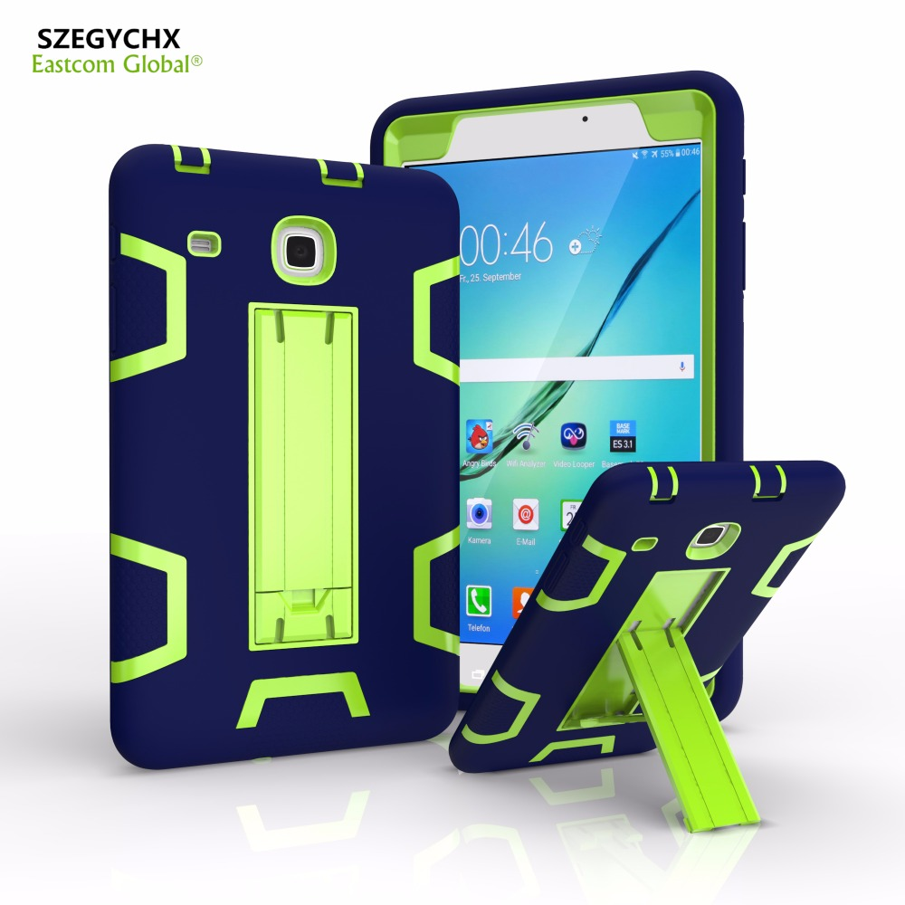 separation shoes 5ef28 6acb0 US $10.23 38% OFF SZEGYCHX Cover For Samsung Galaxy Tab E 8.0 SM T377V  Retina Kids Baby Safe Armor Shockproof Heavy Duty Silicone Hard Tablet  Case-in ...