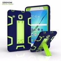 SZEGYCHX Cover For Samsung Galaxy Tab E 8 0 SM T377V Retina Kids Baby Safe Armor