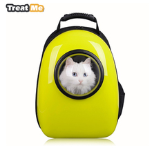 Space Capsule Shaped Cat Bags Pet Carrier Breathable Pet Backpack Dog Outside Travel Outdoor Walking Portable Bag