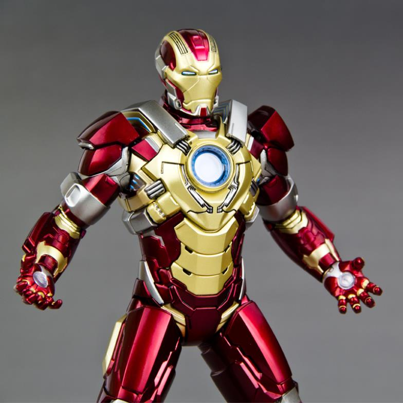 [2014 New Hot Sale ] Drago Marvel 1/9 Iron Man Ironman3 MK17 Broken Heart  Who Finished Model In Action U0026 Toy Figures From Toys U0026 Hobbies On  Aliexpress.com ...