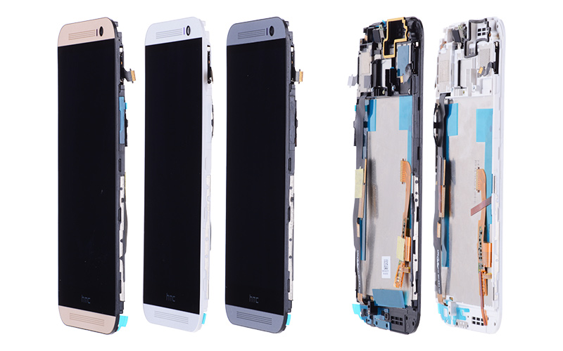 5.0 Original LCD Display with Frame For HTC One M8 LCD Display Touch Screen Digitizer Replacement For HTC M8 LCD Screen 831c (2)