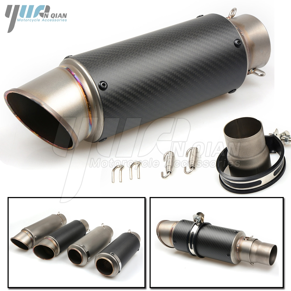 Motorcycle <font><b>Exhaust</b></font> Pipe 51 61 MM Modified <font><b>Exhaust</b></font> Muffler Pipe For Honda CBF 1000 600 CB1100 NC750 NC559 NC 599 <font><b>250</b></font> 750S <font><b>CBR</b></font> 600 image
