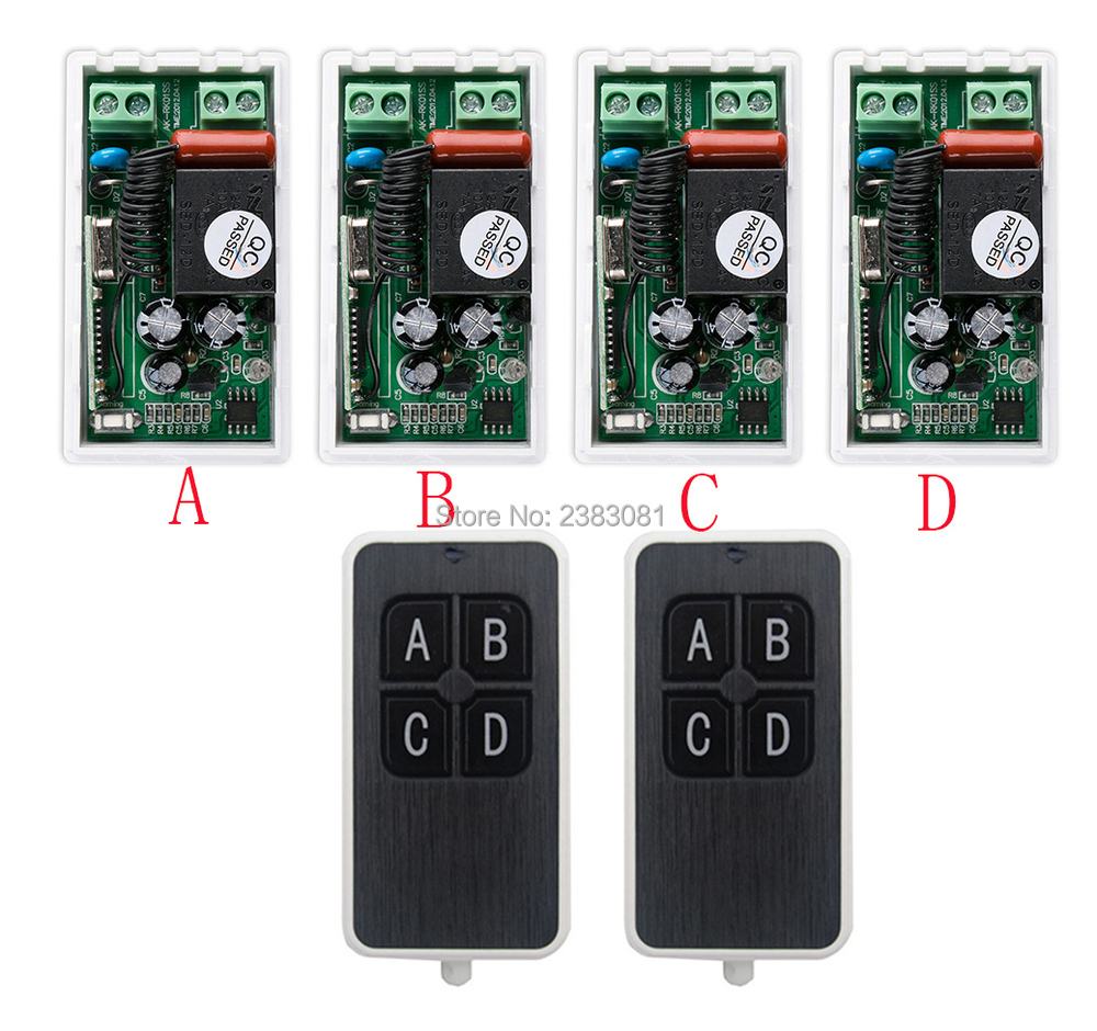 Most Simple Wiring Ac220v 1ch 10a Wireless Remote Control
