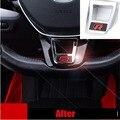 ABS GTI R RLINE Автомобилей руль интерьер наклейки для volkswagen VW Golf 7 ПОЛО БОРА Sagitar LAVIDA Lamand