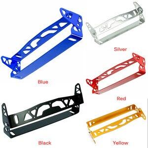 Image 3 - 1pc Nuovo Multi Colore Universale Per Auto In Alluminio JDM Styling License Plate Frame Telaio Tag Porta di Alimentazione Cornici Targa