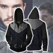 Game of Thrones Cosplay Eddard Stark Costume Movie Hoodie Sweatshirts Men Women Jackets 2019 New