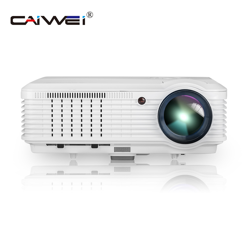 caiwei digital 1080p video led projector home theater game movie multimedia proyector wired sync smartphone hdmi usb av tv [ 1000 x 1000 Pixel ]