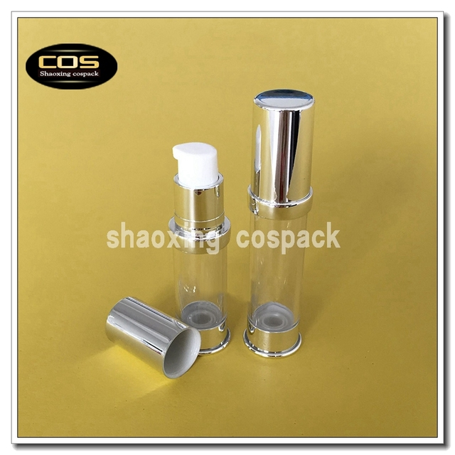 b641afb441 Online Sale 100pcs ZA215-10ml airless pump dispenser, 10ml airless pump  cosmetic packaging, 10ml clear airless bottles wholesale