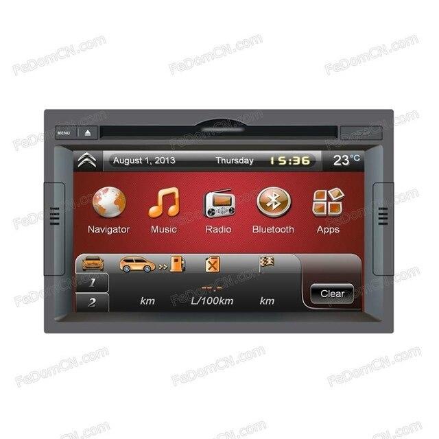 f342ade17523a2 GPS carro DVD para Peugeot 3008 MP3 e MP4 Player Bluetooth A2DP Rádio RDS  Câmera livre