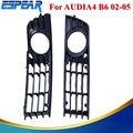 1 conjunto Frontal Inferior Bumper Grille Fog Lâmpada Luz Para AUDI A4L A4 B6 2002-2005 com Caixa de Varejo Estilo do carro #9165
