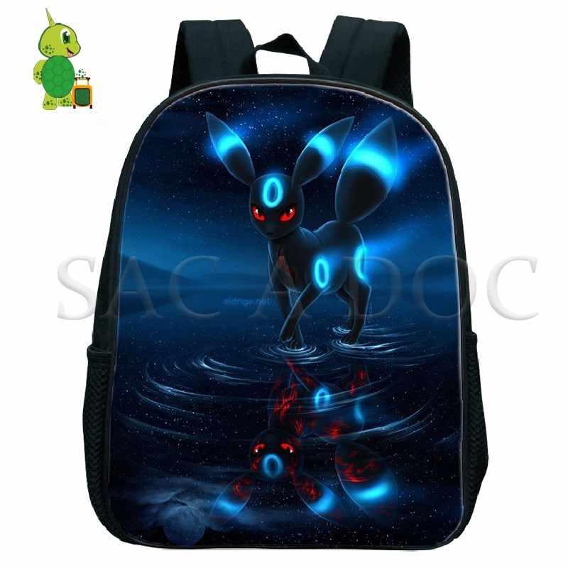 Pokemon Umbreon Mewtwo Gengar Kindergarten Backpack Children School Bags  Baby Toddler Backpack Boys Girls Primary Book eadc2331dc457