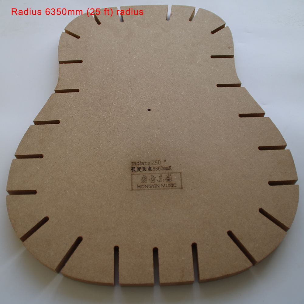 Guitar Shape Guitar Sound Beam Bonding Side Plate Radius Grind Radius Guitar Making Tools Mold Template Radius 6350mm (25 ft) 600cm 300cm fundo snow footprints house3d baby photography backdrop background lk 1929