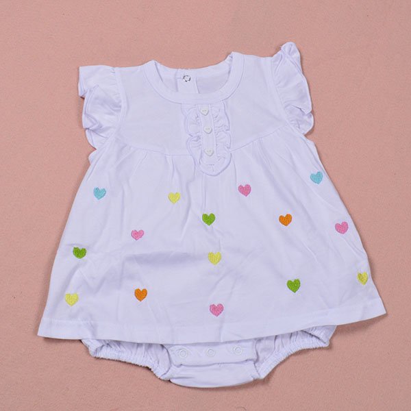 b0726094f Baby Girl Rompers Summer Girls Clothing Sets Roupas Bebes Flower ...