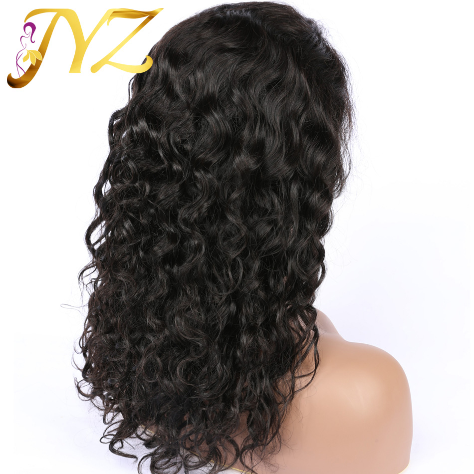 """Curly Human Hair Lace Wigs Brazilian Remy Lace Front Wigs 8""""-28"""" Long Curly Wigs Pre Plucked Hairline With Baby Hair For Black"""