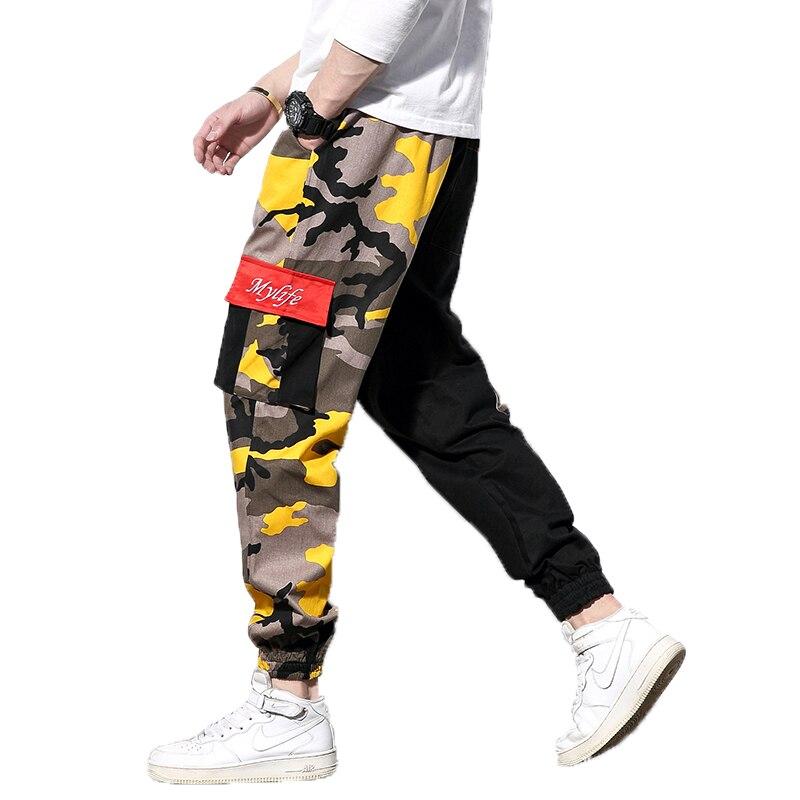 2018 Camo Cargo Hosen Mens Fashion Baggy Taktische Hosen Lässig Baumwolle Multi Taschen Hosen Männlichen Hip Hop Streetwear Hosen 5xl Ein Unverzichtbares SouveräNes Heilmittel FüR Zuhause