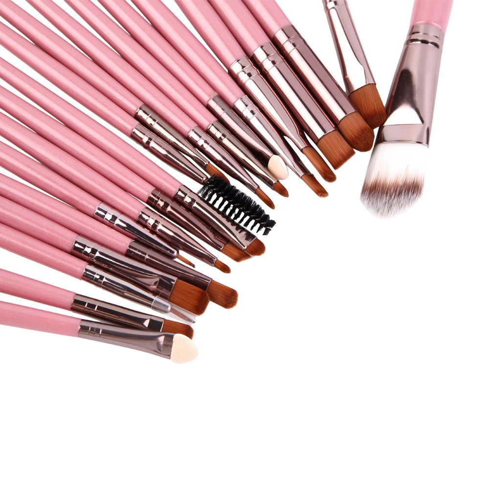 Professional Pieces Brushes Set Powder Eyeshadow Eyeliner Lip BrushesProfessional Pieces Brushes Set Powder Eyeshadow Eyeliner Lip Brushes