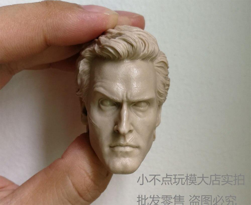 blank 1//6 scale Head Sculpt Rick Grimes of The Walking Dead fit 12/'/' body