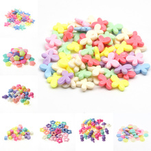 50Pcs/Lot Cheap Various Candy Color Plastic Acrylic Beads For DIY Necklace Bracelet Jewelry Making Charm Pendant