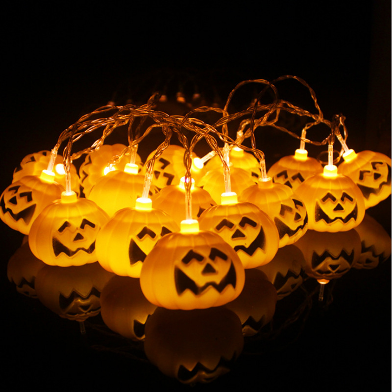 Pumpkin Halloween Led Strip Copper Wire Luminous Led Sting Light For Halloween Home Part ...