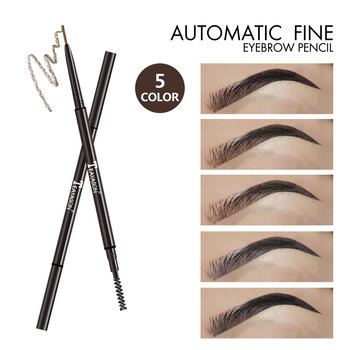 Teayason Brand Double-end Automatic Eyebrow pencil Waterproof Long Lasting 1.5mm Slim Head Microblading Eyebrow Tattoo Pen