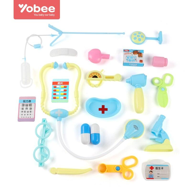 Yobee Spielen Doktor Nurse Spielzeug Medizinische Kit Pretend ...