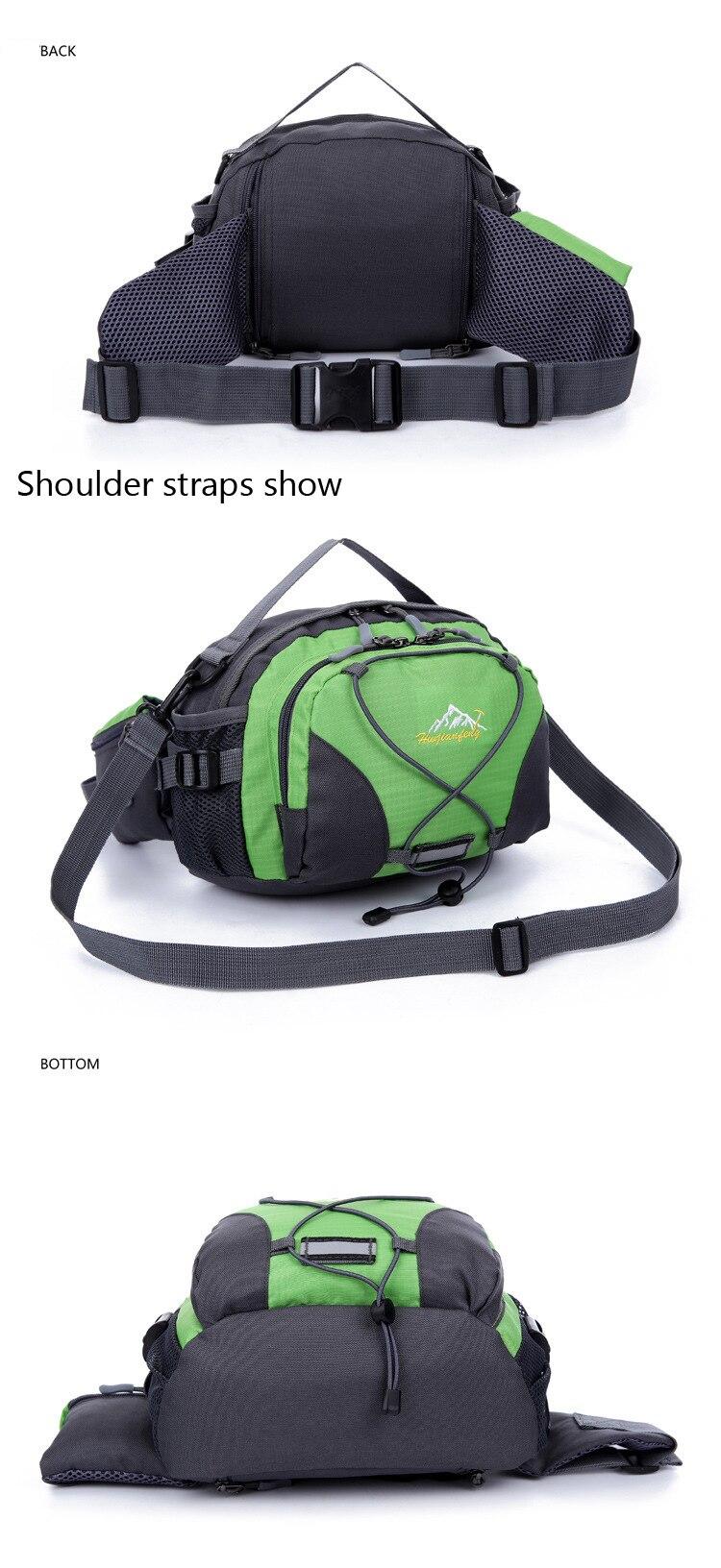 hikiing bolsas cintura saco à prova dnylon água náilon