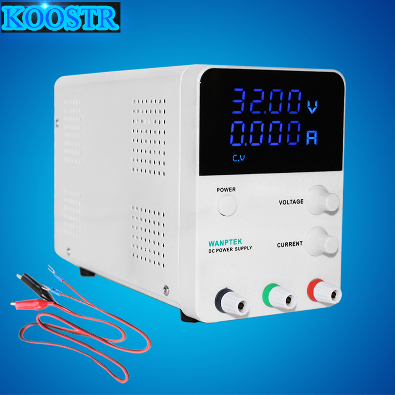 New 30V 5A LED Display Adjustable Switching DC Power Supply GPS305D Laptop Repair Rework Digital voltage regulator 110v   220v-in Switching Power Supply from Home Improvement    1