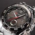 Relogio masculino Curren marca de luxo aço inoxidável Strap analógico data relógio de quartzo dos homens casuais homens relógio de pulso