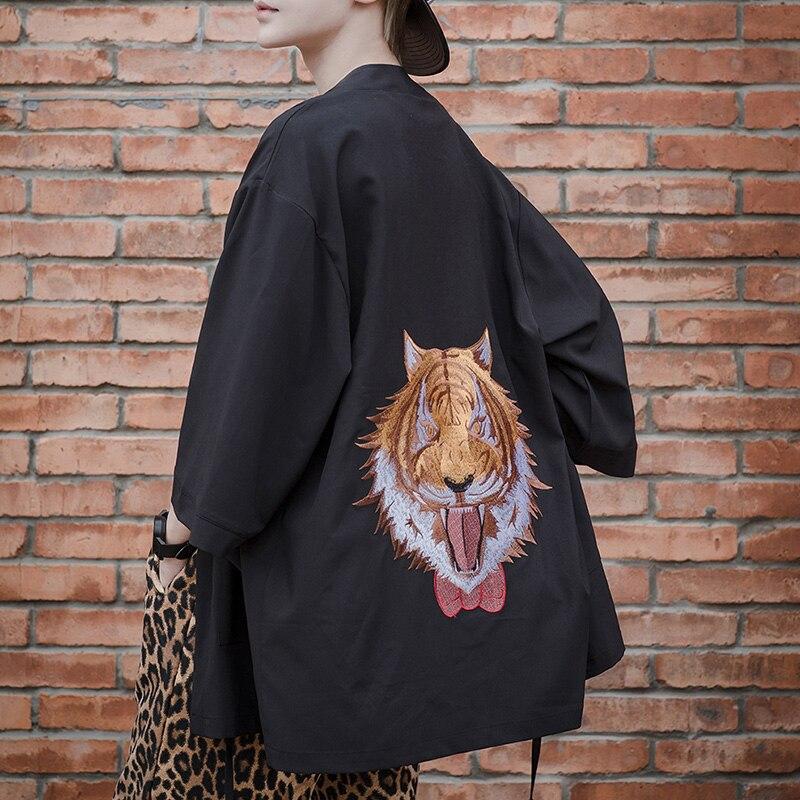 Industrioso Lolita Kimonon Cappotto Gothic Lolita Giapponese Della Camicia In Chiffon 2018 Nuova Offerta Speciale Design Originale Lolita