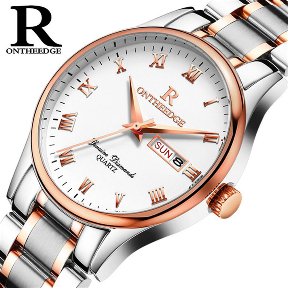 Men Watches Top Brand Luxury 30m Waterproof Ultra Thin Date Clock Male Steel Strap Casual Quartz Watch Men Wrist Sport Watch skmei luxury brand stainless steel strap analog display date moon phase men s quartz watch casual watch waterproof men watches
