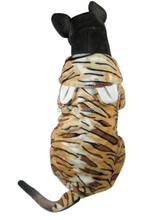 Tiger Style Four Legs Pet dogs Coat Free Shiping By CPAM Medium Large Dogs Clothing