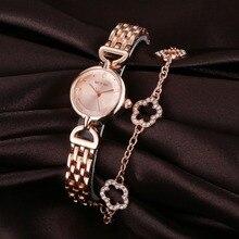2019 New Top Brand Fashion Casual Luxury Crystal Rhinestone Ladies Watch Waterproof Quartz Bracelet Gift