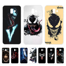 Venom For Phone Case Samsung Galaxy j6 Plus 2018 Soft Silicone Protector Fundas j600f j610f Cover