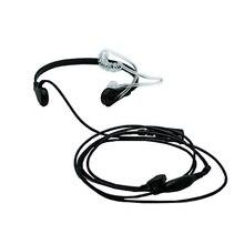ใหม่ยี่ห้อไมโครโฟนคอคอหูฟังสำหรับวิทยุ Baofeng UV 5R UV 82 UV B6 BF 888S walkie talkie หูฟัง