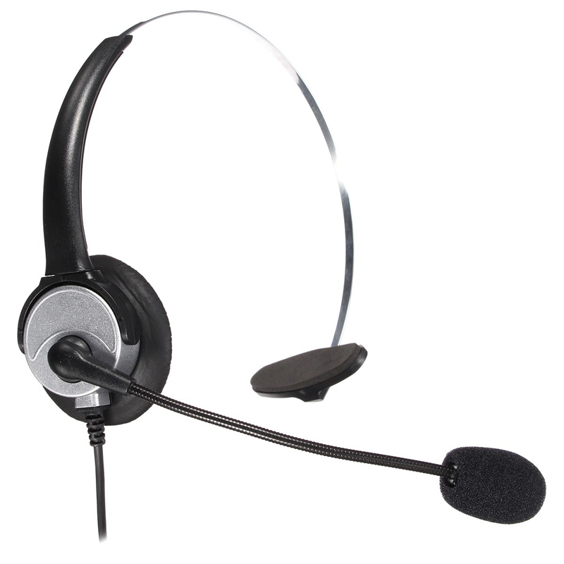 ELEGIANT RJ11 Elefon Headset anschluss Noise Cancelling Mikrofon ...