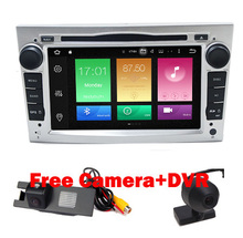 Free Camera+DVR Universal 2din for Opel Astra Vectra Antara Zafria Corsa Car DVD Android 6.0 Terrian GPS Navigation WIFI RDS