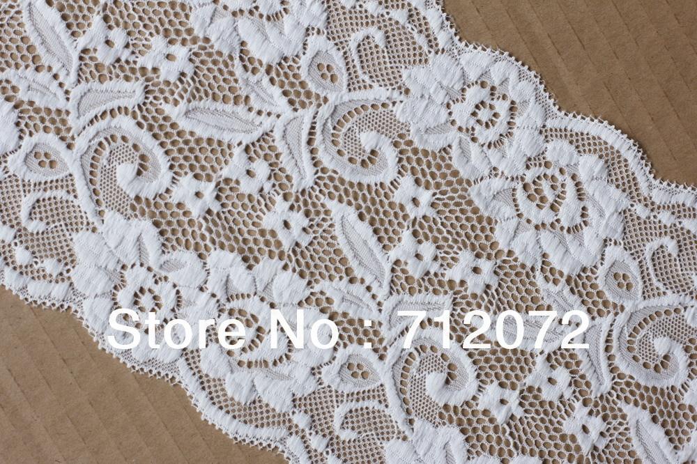 ⑧La Belleza blanco y colores del ajuste del cordón 16 cm ancho buen ...
