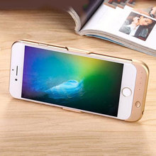 2PCS Portable Travel Charger Rechargeable External Extended Phone Battery Backup Charger Case Pack Power for iPhone 6 6s 7 Plus