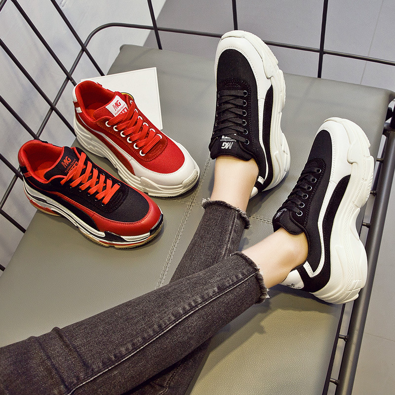 ... Shoes Sneakers Mtach Shoes Fashion Breathable Platform EARTH Autumn New  All Women STAR Girl chaussure Lady 3cc600f98452