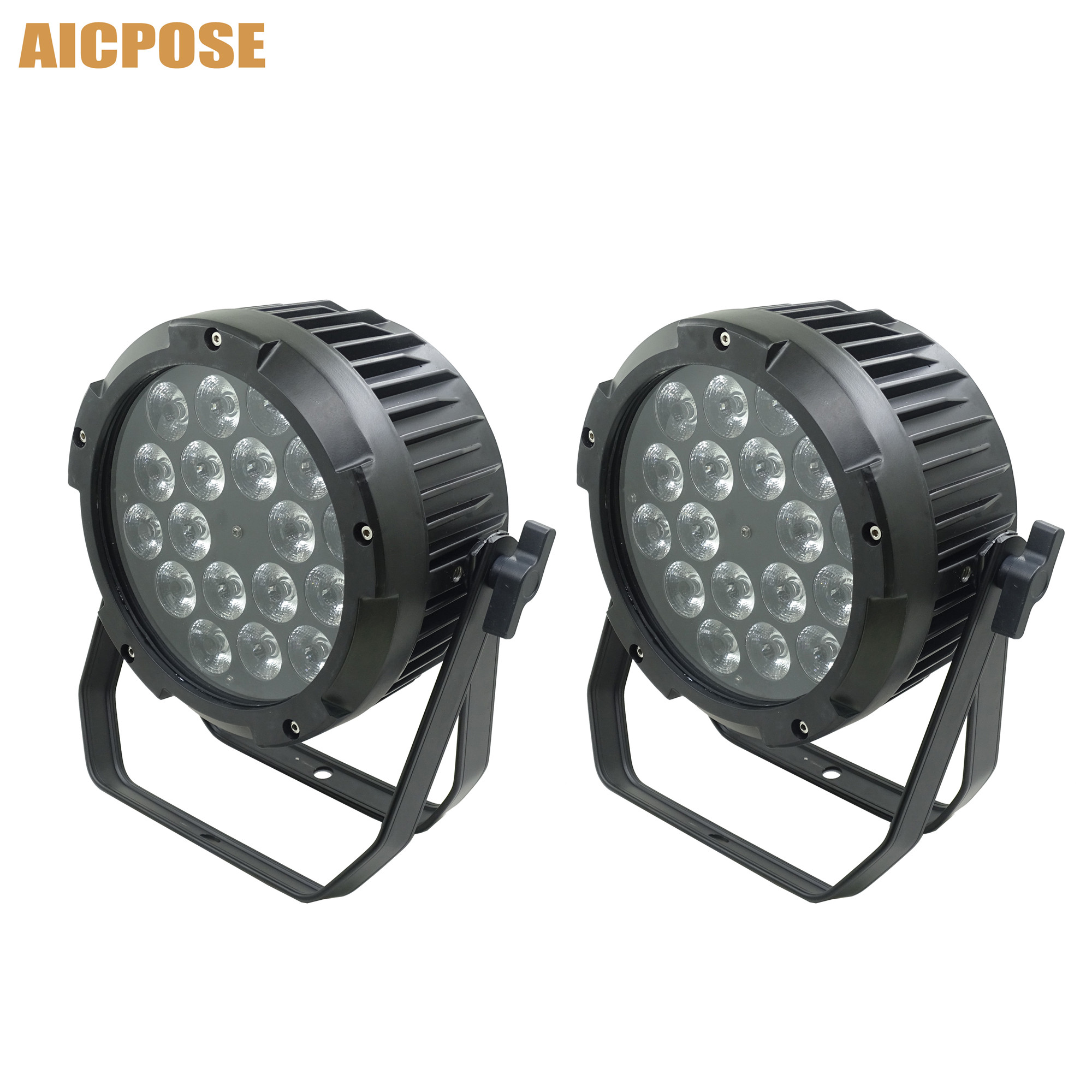 Waterproof 18x18w 4in1/5in1/6in1 RGBWA UV LED Par Can Light Outdoor Stage DMX Control Par Light Wall Washer
